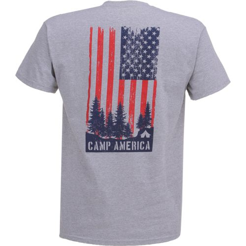 POINT Sportswear Men's Outdoor Enthusiast Camp America Short Sleeve T-shirt - view number 1