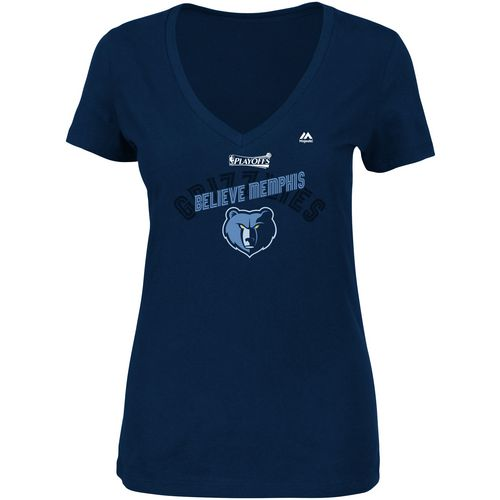 Majestic Women's Memphis Grizzlies 2017 NBA Playoffs Transition Defense T-shirt