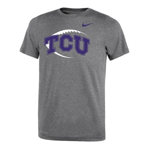 Nike™ Boys' Texas Christian University Legend Icon T-shirt