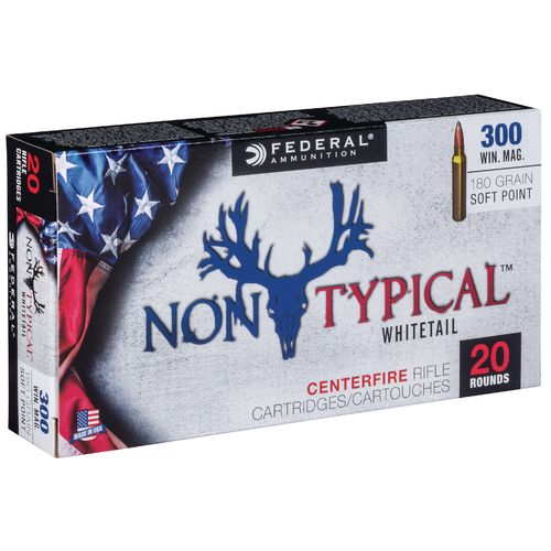Federal Premium .300 Win 180-Grain Nontypical Rifle Ammunition