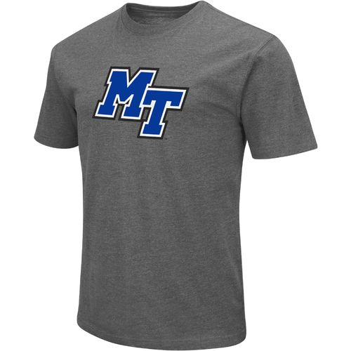 Colosseum Athletics Men's Middle Tennessee State University Logo Short Sleeve T-shirt - view number 1