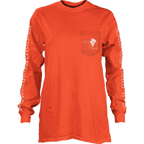 Three Squared Juniors' Oklahoma State University Mystic Long Sleeve T-shirt - view number 1