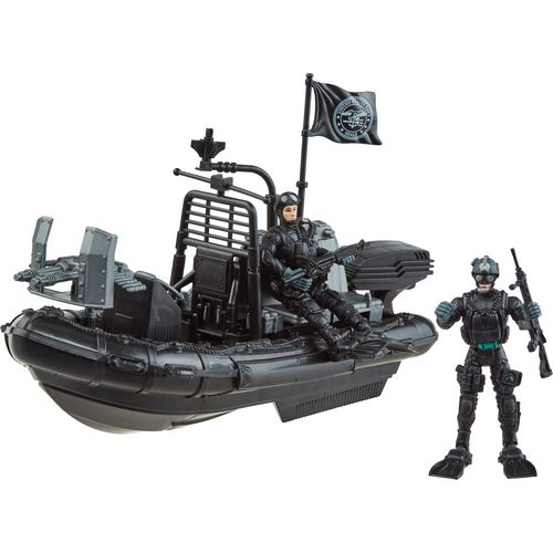 Excite U.S. Navy SEALS Combat Rubber Raiding Craft Playset