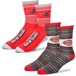 For Bare Feet Men's University of Louisiana at Lafayette Father's Day Socks - view number 1