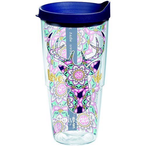 Tervis Simply Southern Love Deerly 24 oz Insulated Tumbler