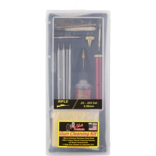 Pro-Shot Products .22 - .223/5.56mm Caliber Rifle Classic Box Cleaning Kit