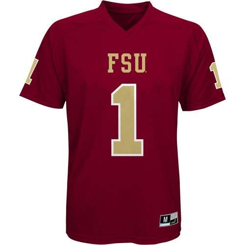 Gen2 Boys' Florida State University Football Jersey Performance T-shirt - view number 1