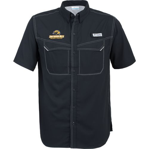 Columbia Sportswear Men's University of Southern Mississippi Low Drag Offshore Short Sleeve Shirt