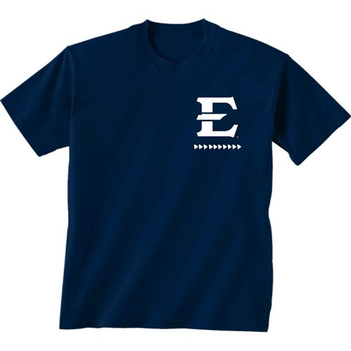 New World Graphics Women's East Tennessee State University Terrain State T-shirt