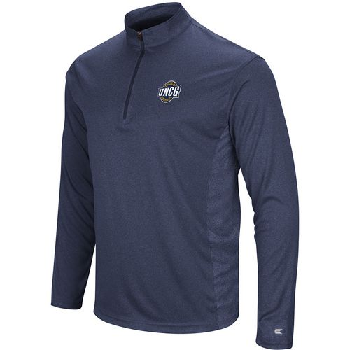 Colosseum Athletics Men's University of North Carolina at Greensboro Audible 1/4 Zip Windshirt