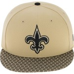 New Era Men's New Orleans Saints Onfield Sideline 2-Tone 9FIFTY Cap - view number 1