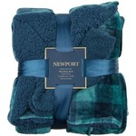 Newport 50 in x 60 in Velvet Berber Throw with Bonus Socks - view number 2
