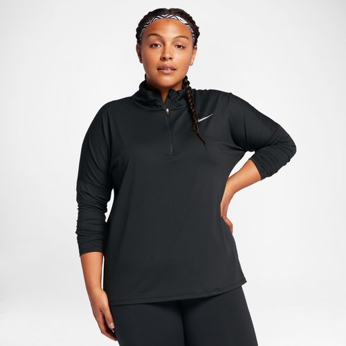 Nike Women's Dry Element 1/2 Zip Plus Size Running Top - view number 4