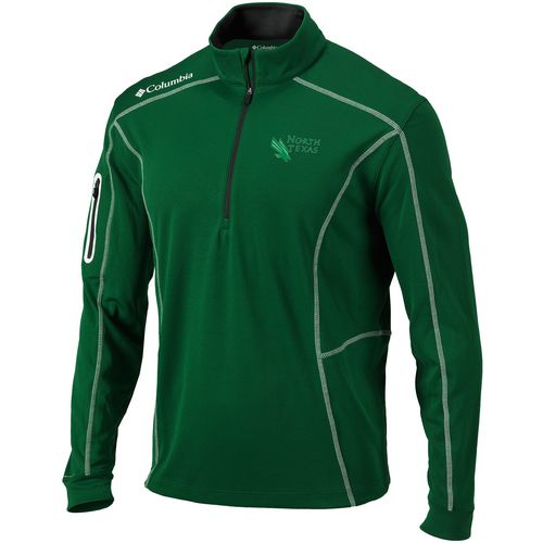 Columbia Sportswear Men's University of North Texas Shotgun 1/4 Zip Pullover