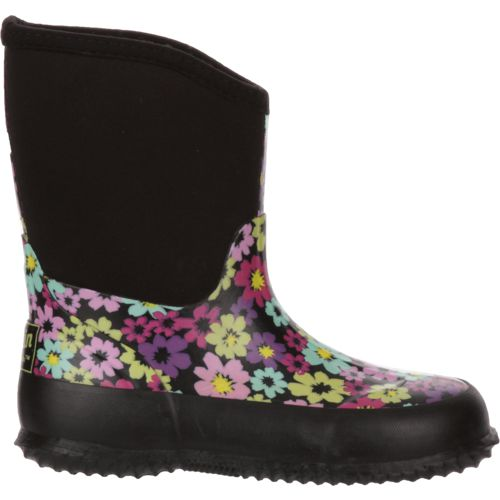 Austin Trading Co. Girls' Floral Neoprene Boots