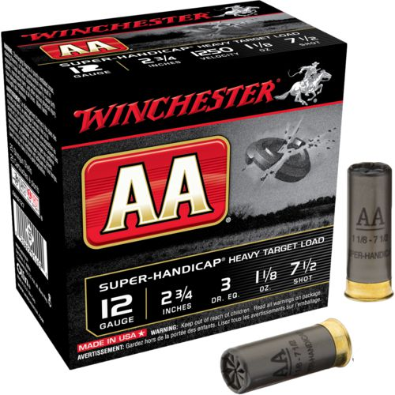 Display product reviews for Winchester AA Super-Handicap Target Load 12 Gauge Shotshells