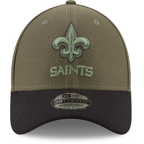 New Era Men's New Orleans Saints Salute to Service '17 39THIRTY Cap