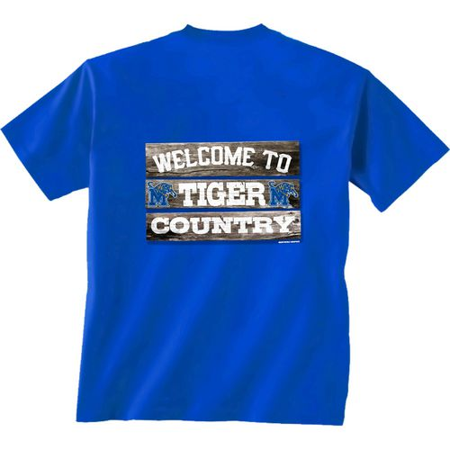 New World Graphics Men's University of Memphis Welcome Sign T-shirt