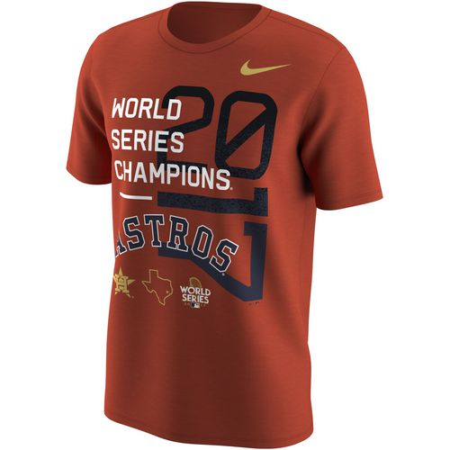 Nike Men's Astros 2017 World Series Champions Short Sleeve T-Shirt