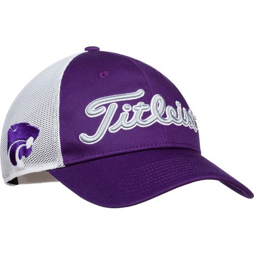 Titleist Men's Kansas State University Twill Mesh Cap