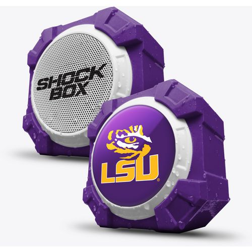 Mizco Louisiana State University Bluetooth Shockbox Speaker