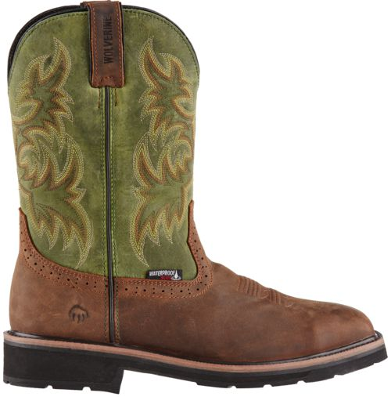 Display product reviews for Wolverine Men's Rancher Steel Toe Waterproof Wellington Work Boots