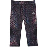 adidas Girls' climalite Alpha Printed Capri Tight - view number 3