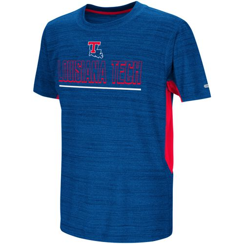 Colosseum Athletics Kids' Louisiana Tech University Over The Fence T-shirt