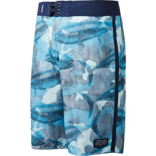 Salt Life Men's Camo Seas Boardshorts