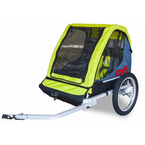 Cyclic Double-Double 2-Child Bike Trailer