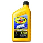 Pennzoil Marine Premium Plus 16 oz. Synthetic Blend 2-Cycle Engine Oil