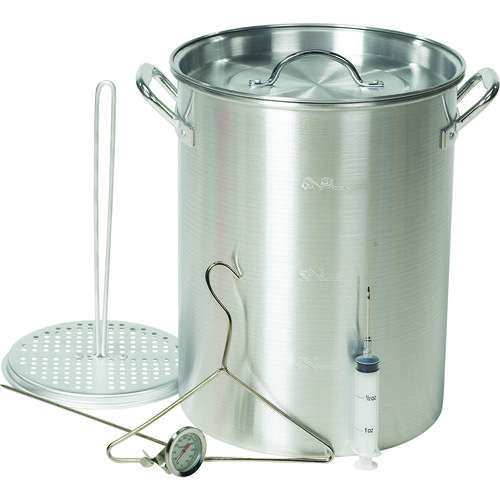 Display product reviews for Outdoor Gourmet 30 qt. Aluminum Pot Kit