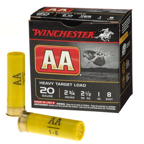 Display product reviews for Winchester AA Target Load 20 Gauge 8 Shotshells