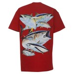 Guy Harvey Boys' Tuna Collage T-shirt