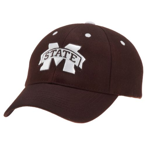 Image for Top of the World Adults' Triple Conference Mississippi State Baseball Cap from Academy