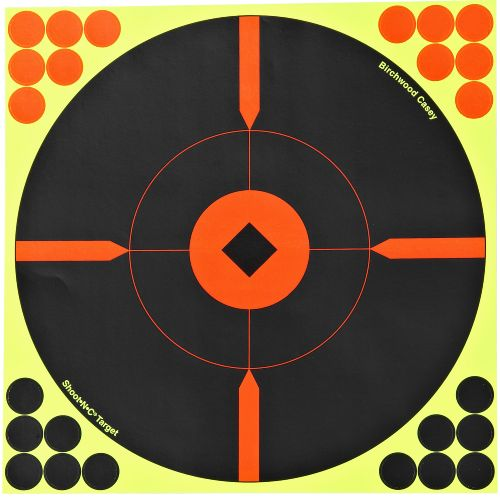 "Display product reviews for Birchwood Casey® Shoot-N-C® Self-Adhesive 12"" Round X Targets 5-pack"
