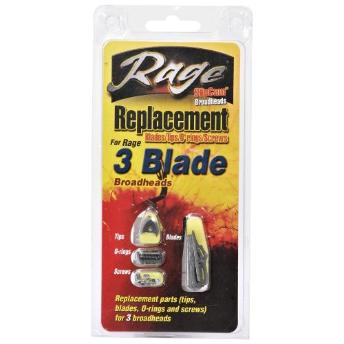 RAGE 3-Blade Replacement Broadhead Blades