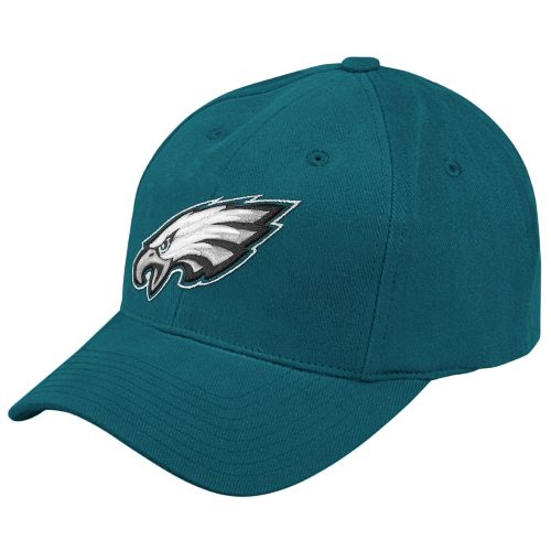 Reebok Kids' Philadelphia Eagles Basic Logo Structured Adjustable Cap