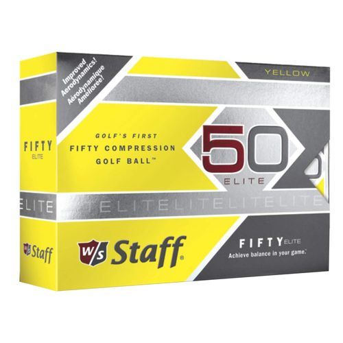Wilson Staff Fifty Elite Golf Balls 12-Pack