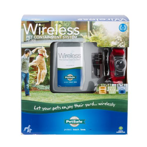 Display product reviews for PetSafe® Wireless Pet Containment System™