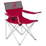 Logo Chair University of Alabama Houndstooth Canvas Chair