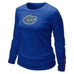 Nike Women's University of Florida Long Sleeve Logo T-shirt