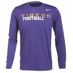 Nike Men's Louisiana State University Legend Conference Long Sleeve T-shirt
