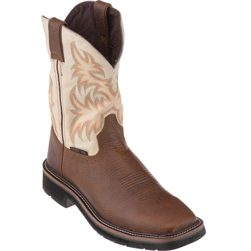 Justin Men's Kettle Cowhide Work Boots | Academy