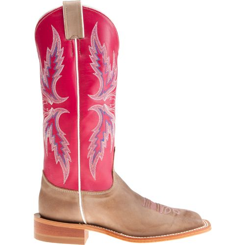 Justin Women's Bent Rail Vintage Cow Western Boots
