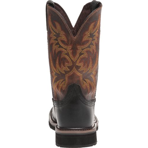 Justin Men's Oiled Composition Toe Western Work Boots - view number 4