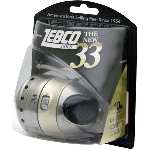 Zebco Gold 33 Spincast Reel Convertible - view number 2