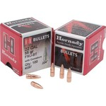 Hornady .22 55-Grain Full Metal Jacket Bullets with Cannelure