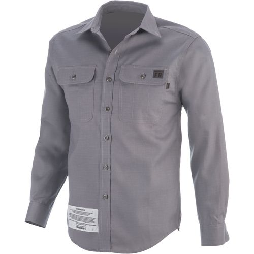 Wolverine Men's Flame-Resistant Ripstop Long Sleeve Shirt