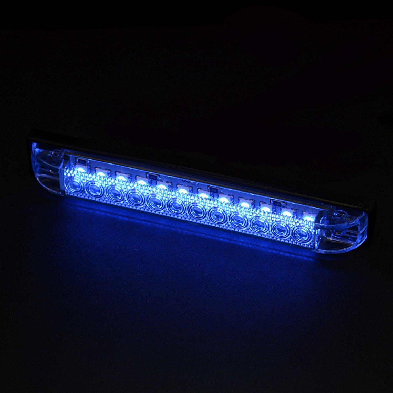 Marine Raider LED Blue Utility Strip Light & Boat Lights | Underwater LED u0026 Fishing Lights azcodes.com